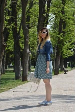 sky blue Zsa zsa Zsu dress