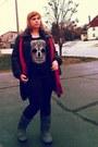 Charcoal-gray-candies-boots-black-ana-jacket-black-buffalo-exchange-t-shirt
