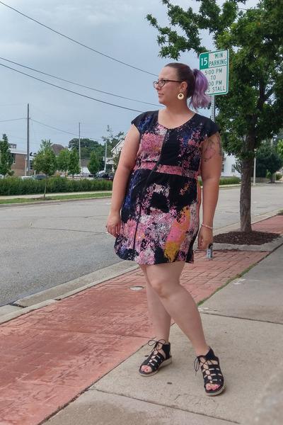 bubble gum Macys dress