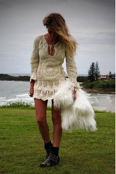 Shona Joy dress - Soles boots - Queens Wardrobe coat - LAS ring