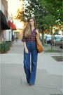 Navy-vintage-jeans-brick-red-american-apparel-shirt-tawny-balielf-bag