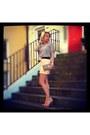 Zara-skirt-aldo-bag-vintage-blouse-new-look-bracelet
