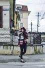 Black-tally-weijl-jeans-brick-red-ecua-andino-hat-hat-zara-jacket