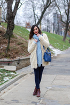 PERSUNMALL bag - Zara coat - Zara sweater