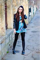 H&M boots - Zara blazer