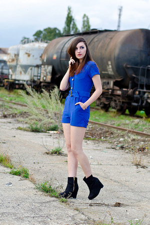 Kristines Collection romper - H&M boots