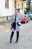 Zara boots - H&M bag - Zara shorts