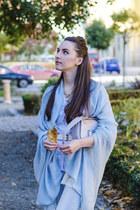 Orsay jeans - Zara shirt - Stradivarius scarf - H&M bag