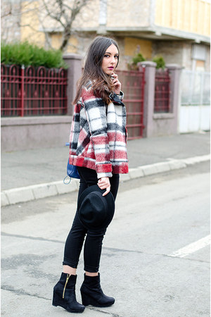 Zara jacket - H&M boots - Tally Weijl jeans - PERSUNMALL bag