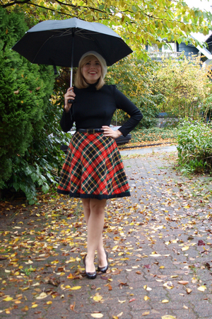 Rainy Day in Plaid