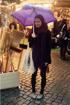 Vero Moda coat - Primark shoes - H&M scarf