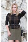 Massimo-dutti-dress-asos-bag-h-m-belt-vero-moda-top