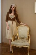 asos hat - Bershka blouse