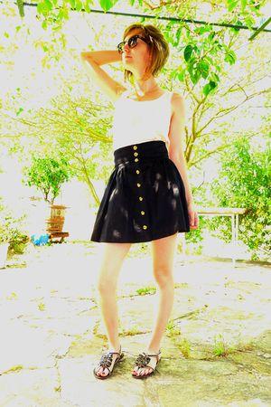 H&M skirt - H&M top - Lollipops shoes