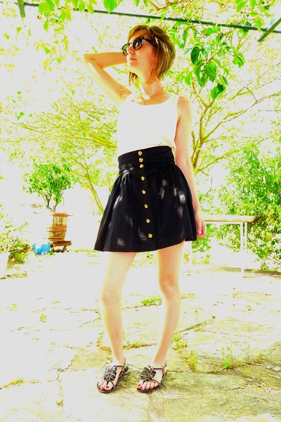 H&M skirt - H&M top - Lollipops shoes