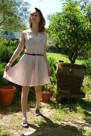 vintage dress - Lollipops shoes