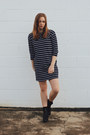 Black-ankle-boots-therapy-shoes-boots-navy-suprÉ-dress