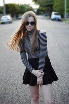 black OASAP shirt - black Lipstik boots