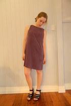 purple shift Kylie Hawkes dress - Rubi shoes wedges