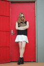 Black-ankle-boots-lipstik-boots-silver-quay-eyewear-sunglasses