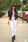 Light-purple-lace-nasty-gal-blouse-black-forever-21-boots-white-zara-jeans