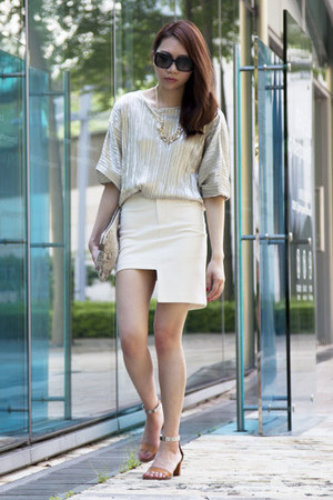 Zara shirt - H&M dress - Zara bag - Chloe sandals