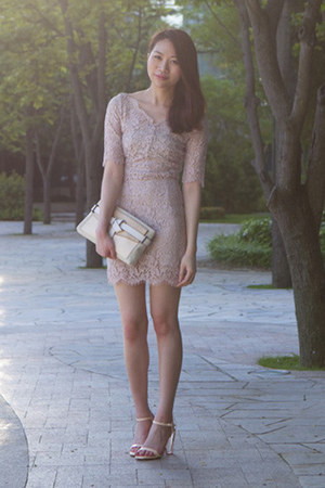 Lover dress - Reed Krakoff bag - Zara heels