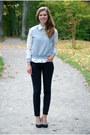 Black-lindex-jeans-white-ralph-lauren-shirt-black-seppälä-heels