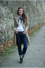 Heather-gray-angelo-carutti-boots-beige-h-m-coat
