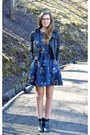 Black-tamaris-boots-navy-floral-persunmall-dress-black-leather-random-jacket