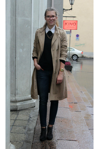 Tan H&M Trench Coat - How to Wear and Where to Buy | Chictopia