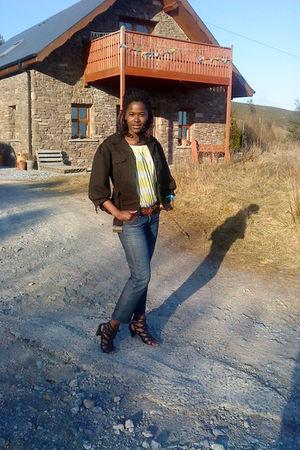 River Island belt - Gap jeans - River Island shoes - Zara jacket - French Connec