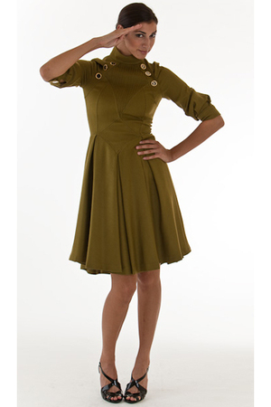 green Miriam Ocariz dress