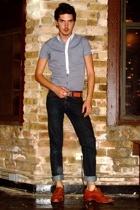 asos shirt - Levis jeans