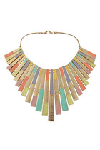 pastel metal Paisie necklace