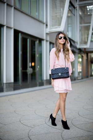 pink semi sheer BB Dakota skirt - pink ruffles BB Dakota top