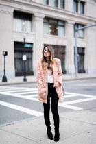 pink faux fur Forever 21 jacket