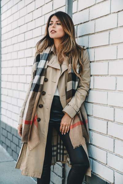 light brown trench coat Burberry jacket