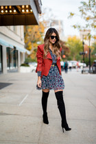 Suede, Fringe and Over-the-Knee Boots