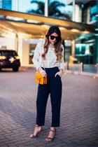 Crochet Top and High Waist Pants