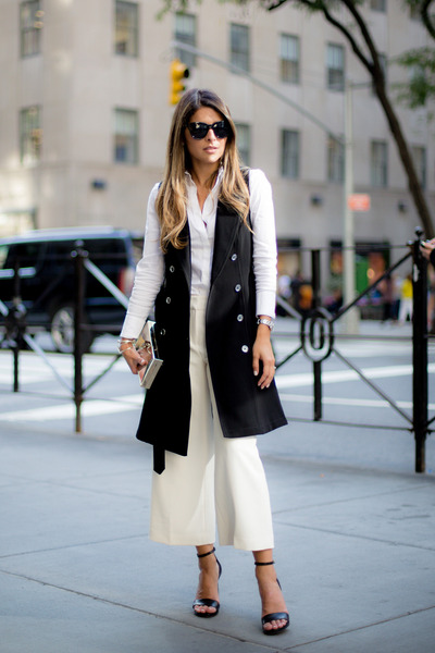Black-trench-dress-white-house-market-dress