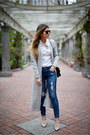 Navy-ripped-express-jeans-black-black-chanel-bag