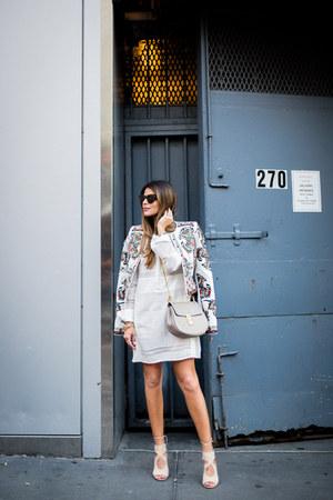 white embroidered bcbg max azria jacket - white long sleeve bcbg max azria dress