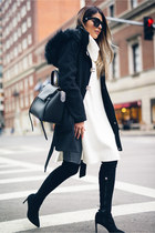 Black Over-the-knee-boots
