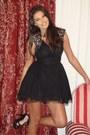 Guess-dress-zara-heels