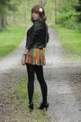 Black-forever21-jacket-black-merona-tights-black-apt-9-shoes-red-forever21