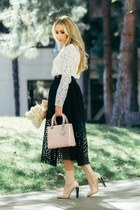 christian dior bag - Maje skirt