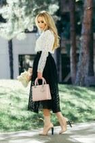 christian dior bag - Maje skirt