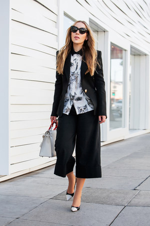 black Tibi pants