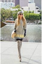 Chanel bag - Celine sunglasses